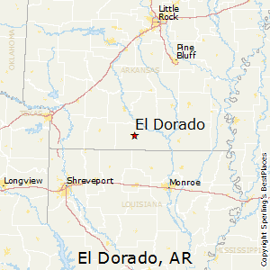 El_Dorado,Arkansas Map
