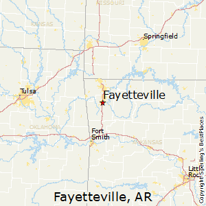 Best Places to Live in Fayetteville, Arkansas