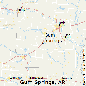 Gum_Springs,Arkansas Map