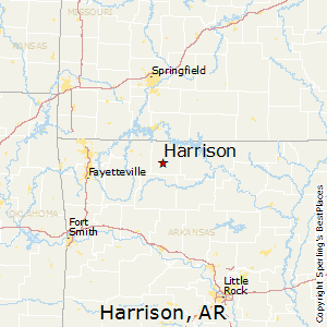 Boone County Arkansas Map.Best Places To Live In Harrison Arkansas