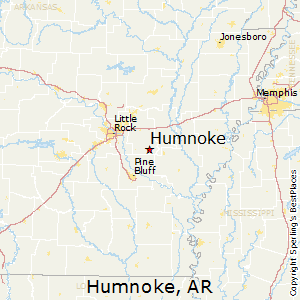 Humnoke,Arkansas Map