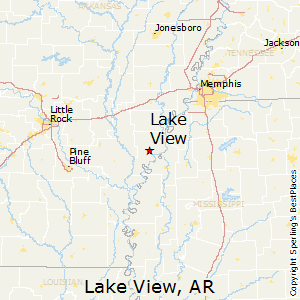 Lake_View,Arkansas Map