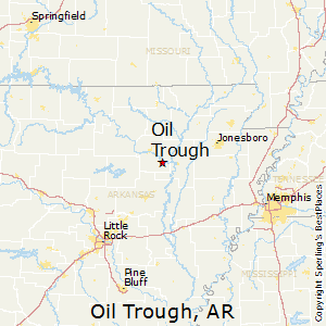 Oil_Trough,Arkansas Map