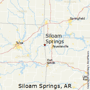 map siloam springs arkansas Best Places To Live In Siloam Springs Arkansas map siloam springs arkansas