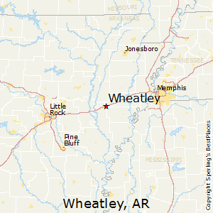 Wheatley,Arkansas Map