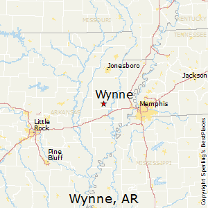 map of wynne arkansas Best Places To Live In Wynne Arkansas map of wynne arkansas