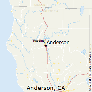 Best Places to Live in Anderson, California
