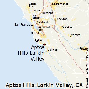 Aptos_Hills-Larkin_Valley,California Map