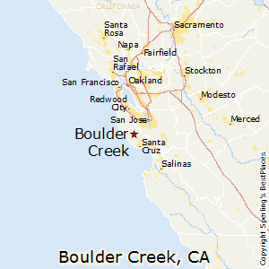 Best Places to Live in Boulder Creek California