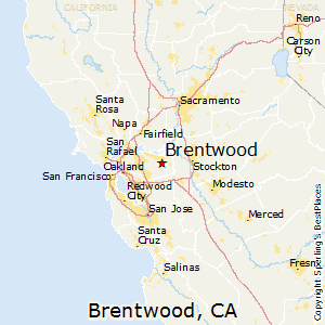 City Of Brentwood Ca Map - Ancora.store •