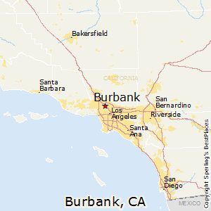 Burbank California Map Burbank, California Cost of Living