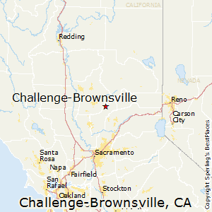Challenge-Brownsville,California Map