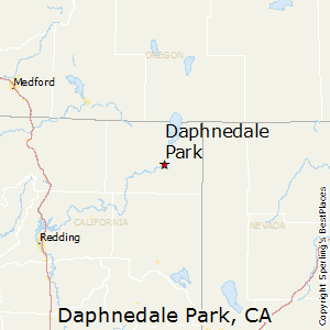 Daphnedale_Park,California Map