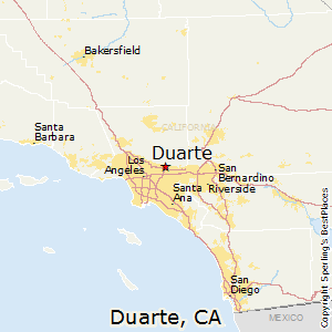 Best Places To Live In Duarte California