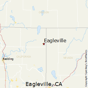 Eagleville,California Map