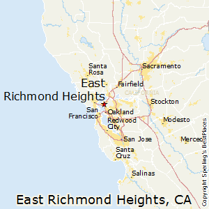 East_Richmond_Heights,California Map