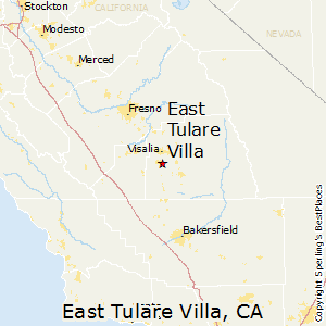 Tulare Zip Code Map.Best Places To Live In East Tulare Villa California