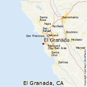 El_Granada,California Map
