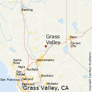 Grass Valley California Map Best Places to Live in Grass Valley, California Grass Valley California Map