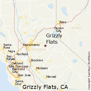 Grizzly_Flats,California Map
