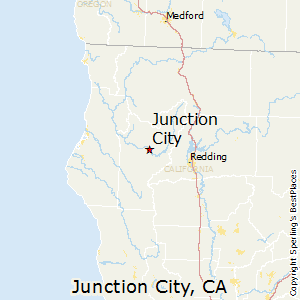 Junction_City,California Map