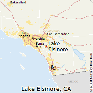 Lake_Elsinore,California Map