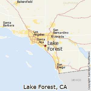 map of lake forest california Best Places To Live In Lake Forest California map of lake forest california