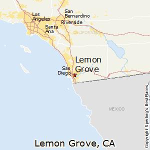 Lemon Grove Zip Code Map.Lemon Grove California Cost Of Living