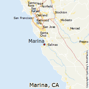Comparison: Marina, California - Hollister, California