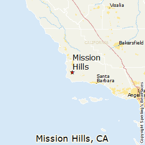 Mission_Hills,California Map
