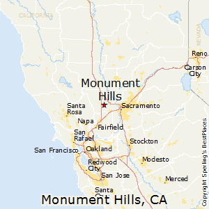 Monument_Hills,California Map