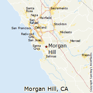 Morgan_Hill,California Map