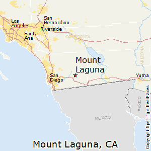 Mount_Laguna,California Map