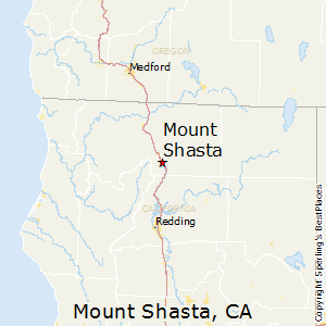 Mount_Shasta,California Map