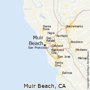 Muir_Beach,California Map