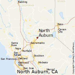 Placerville California Map.Comparison Placerville California North Auburn California