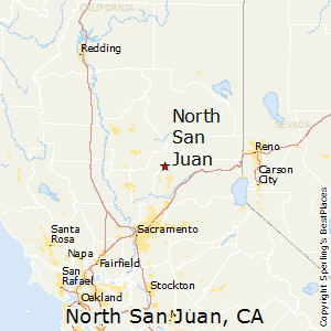 North_San_Juan,California Map