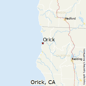Orick California Map.Best Places To Live In Orick California
