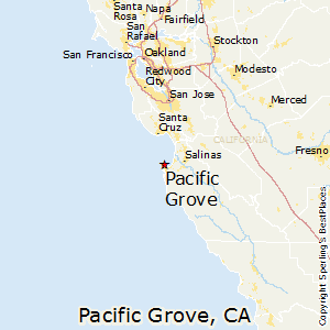 Pacific_Grove,California Map