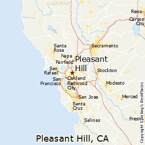 Pleasant_Hill,California Map
