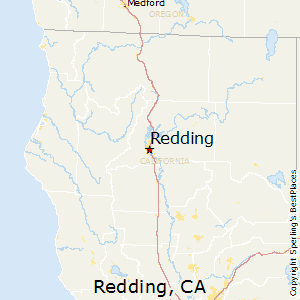 Redding Ca Map Best Places to Live in Redding, California