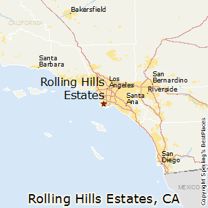 Rolling_Hills_Estates,California Map