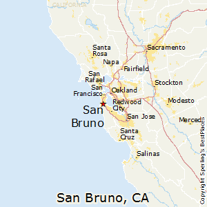 San_Bruno,California Map