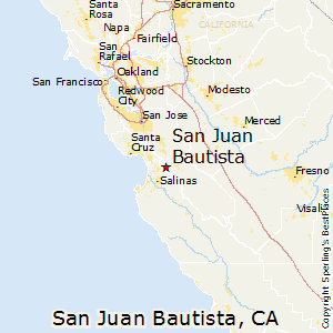 San_Juan_Bautista,California Map