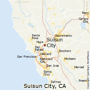 Comparison Suisun City California Fairfield California