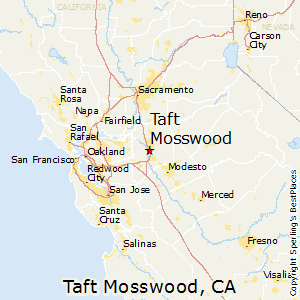 Taft_Mosswood,California Map