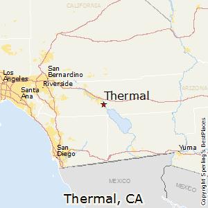 Comparison Thermal California Mecca California
