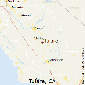 Tulare Zip Code Map.Best Places To Live In Tulare California