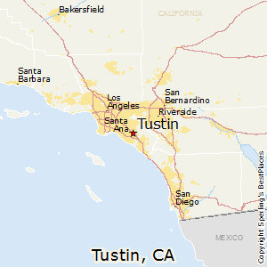 Where Is Irvine California On California Map.Comparison Tustin California Irvine California