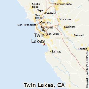 California Map Lakes.Twin Lakes California Cost Of Living